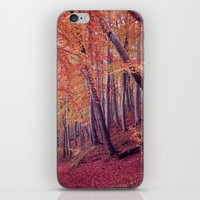 wood iPhone & iPod Skins featuring wood by Claudia Drossert