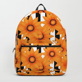 Yellow sunflowers . Backpack