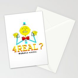 4 REAL? Stationery Cards