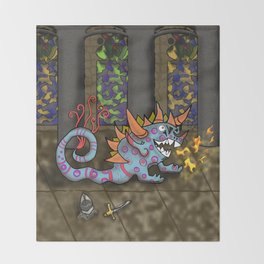 The Doodlethwumpus Throw Blanket