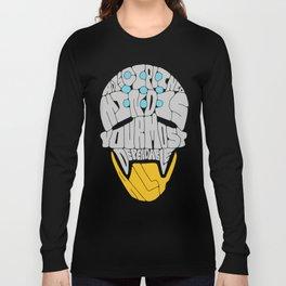 "Zenyatta Typography - ""A Disciplined Mind"" Long Sleeve T-shirt"
