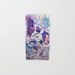Psychedelic Strawberry Fields Hand & Bath Towel
