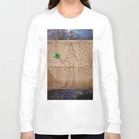 brasil Long Sleeve T-shirts featuring THOTH BRASIL 2014 by Dozzo