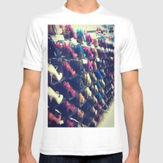 Shoes Matter Mens Fitted Tee White MEDIUM