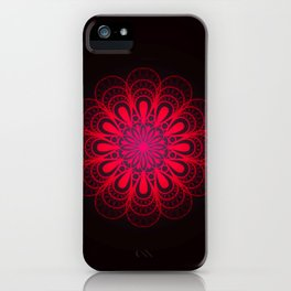 Riveting Rose iPhone Case