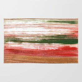 Copper abstract watercolor Rug