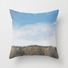 Tree Line Throw Pillow