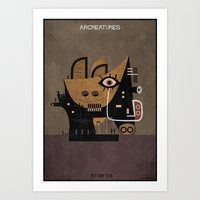 011_ARCREATURES-01 Art Print
