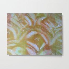 Cold wax Metal Print