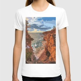Acadia National Park at Maine T-shirt
