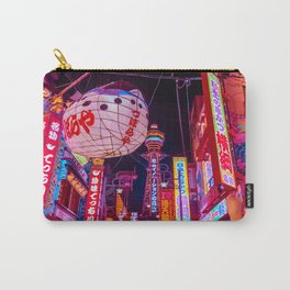 Electric Postcard from Osaka Carry-All Pouch