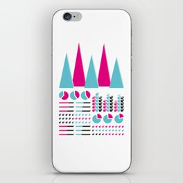 Infographic Selection iPhone Skin