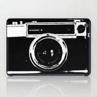 camera iPad Cases featuring Camera by Maressa Andrioli