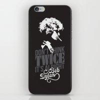 bob dylan iPhone & iPod Skins featuring Bob Dylan by JaimieHallarn