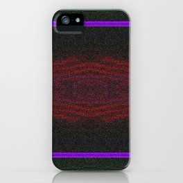 Cityscape at Night Moodboard  iPhone Case