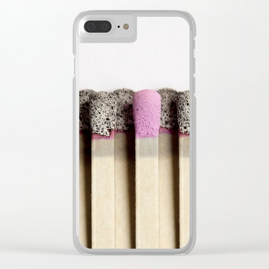 Odd match out Clear iPhone Case