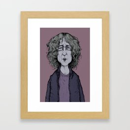 Kevin Shields - My Bloody Valentine Framed Art Print