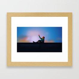 J-HOPE - BTS Framed Art Print