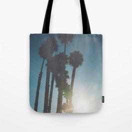 California Palm Trees Tote Bag