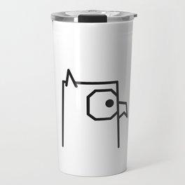 Minimalist Owl Travel Mug