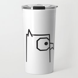 Minimalist Owl Travel Mug
