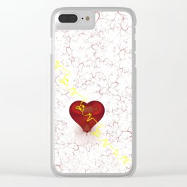 Unrequited Clear iPhone Case
