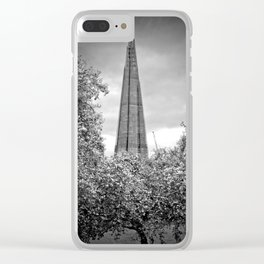 The Shard London Bridge Tower Clear iPhone Case
