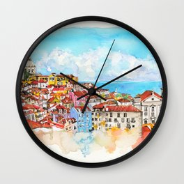 Lisbon, Portugal Wall Clock