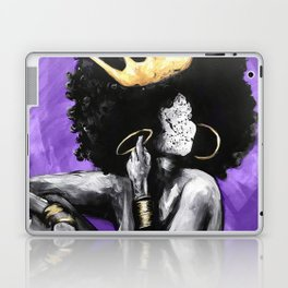 Naturally Queen VI PURPLE Laptop & iPad Skin