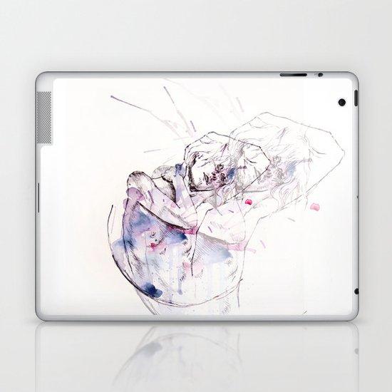 circles - con occhi porpora Laptop & iPad Skin