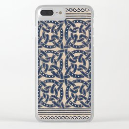 Seventy-one Clear iPhone Case