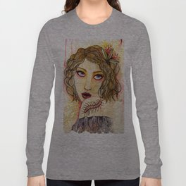 Cecilia and the Centipede Long Sleeve T-shirt
