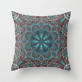 Mandala - Skyward Throw Pillow