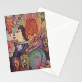 Secret Gathering Stationery Cards