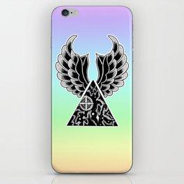 universal wings iPhone Skin