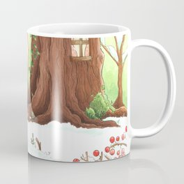 Mouse and bird Coffee Mug