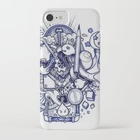 doodle iPhone & iPod Cases featuring Doodle by Puddingshades