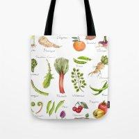 calendar Tote Bags featuring Calendar-January thru June by Brooke Weeber