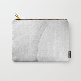 White Petals | Macro Nature Carry-All Pouch