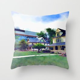 Antique Penn  Throw Pillow