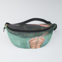 Feet at the Pool Fanny Pack