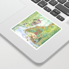 The Wind in the Willows Sticker