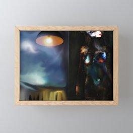 The Energy Framed Mini Art Print