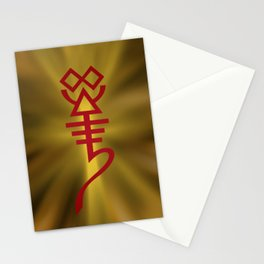All Hail the Whispering God! Stationery Cards