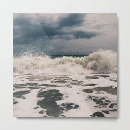 Vero Beach Waves 1 Metal Print