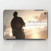 metal gear solid iPad Cases featuring metal gear solid V  , metal gear solid V  games, metal gear solid V  blanket by Eirarose
