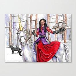 Mia's Dream by DeeDee Draz Canvas Print