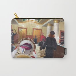 Grand International Hotel by Jeff Lee Johnson Carry-All Pouch