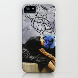 Molecules iPhone Case