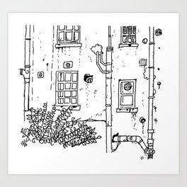 """Melrose Place, Clifton"" Art Print"